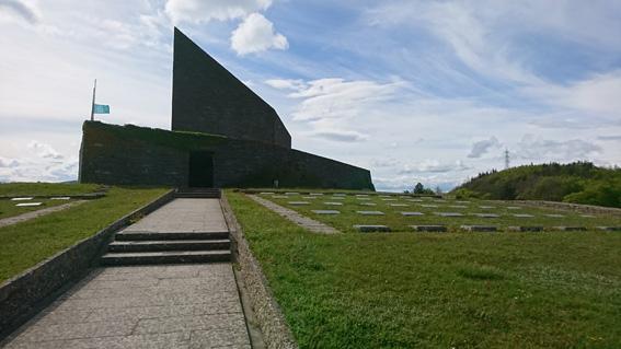 Soldatenfriedhof am Futa Pass