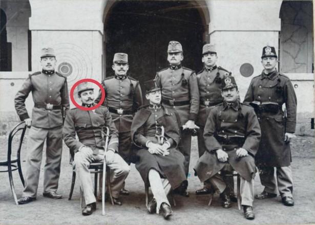 1904 – 1915  niederösterreichisches Infanterieregiment Nr. 4 Hoch- und Deutschmeister, Wien, Hauptmann Franz Kammer
