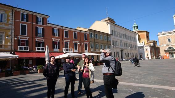 Ravenna Hauptplatz