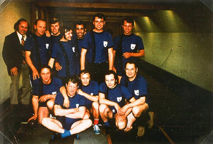 I. und II. Herrenmannschaft 1974