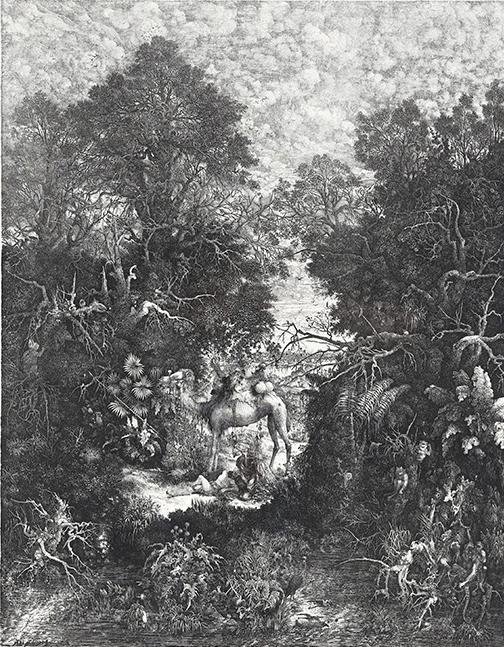 Le Bon Samaritain, R. Bresdin - Coll. Galerie Jahidi © Henri Ducray