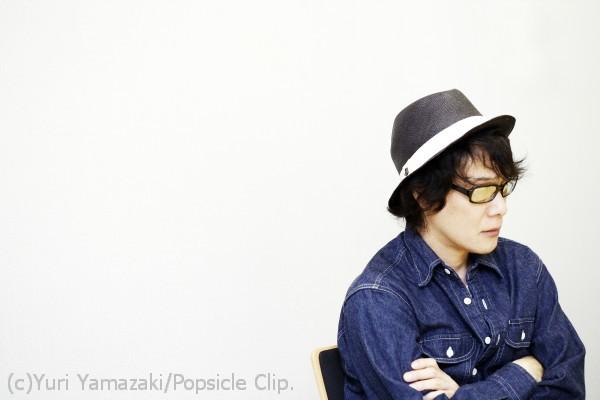 黒沢健一さん。インタヴュー風景の貴重な一枚。