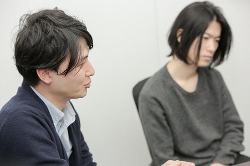 L→ 佐藤望、黒澤鷹輔