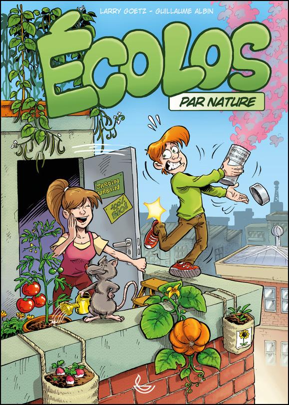 Album BD Ecolos par nature