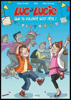 Album BD Luc et Lucie