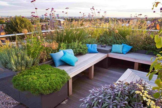 Terrasse extérieure © DR