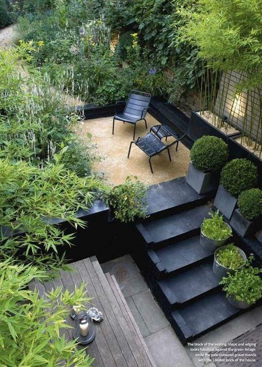 jardin petit espace cool rocaille pour petit espace with jardin petit espace latest cuisine. Black Bedroom Furniture Sets. Home Design Ideas