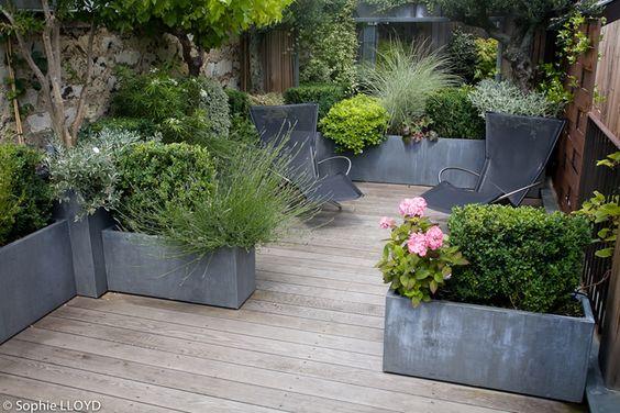 Terrasse aménagée © Cristian Fournet