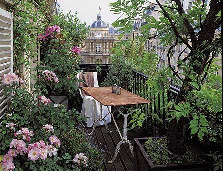 Aménagement d'un balcon © DR