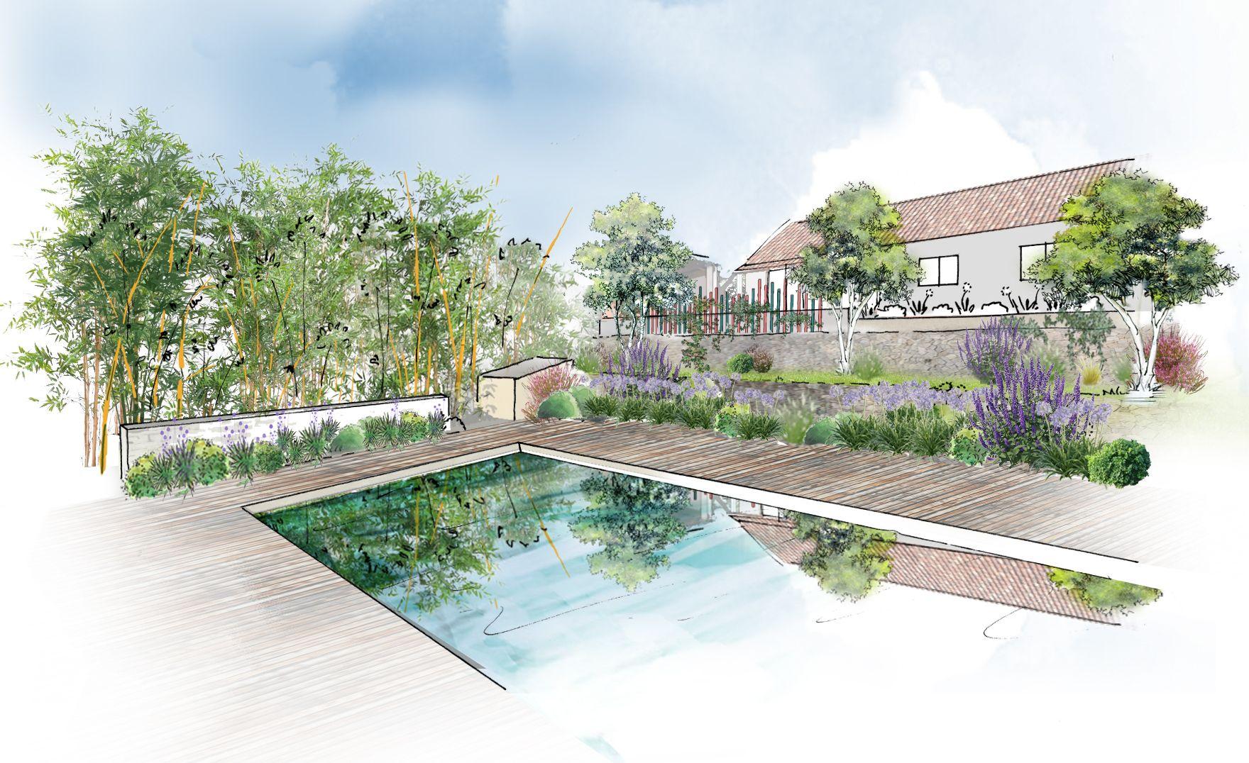 Aménagement d'un jardin à Roquevaire © Rc-Paysage