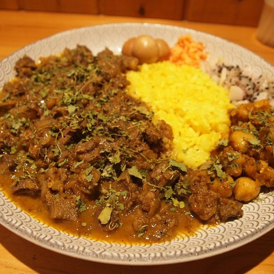 長堀橋・Dish curry&relish