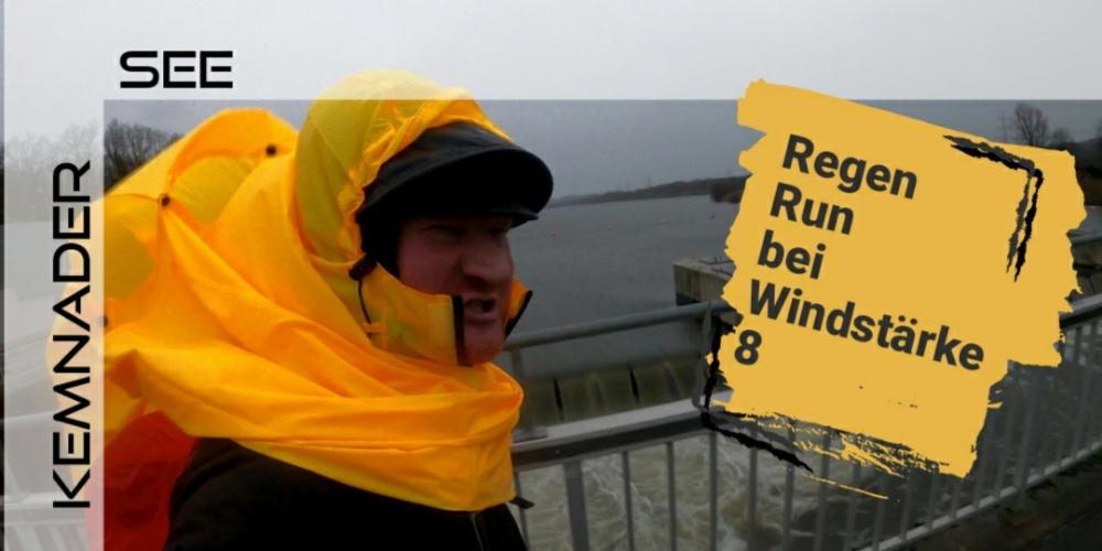 Kemnader See in Bochum und Regen von allen Seiten!