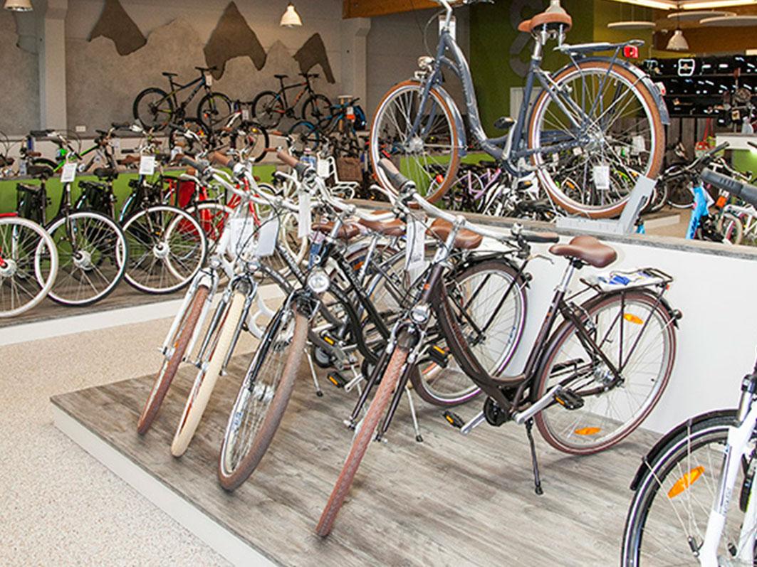 Bodenbelag für das 2-Rad-Zentrum Seidel in Dülmen