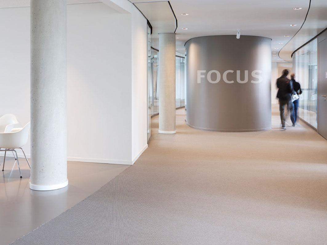 Bodenbelag für die Kö - Bogen in Düsseldorf