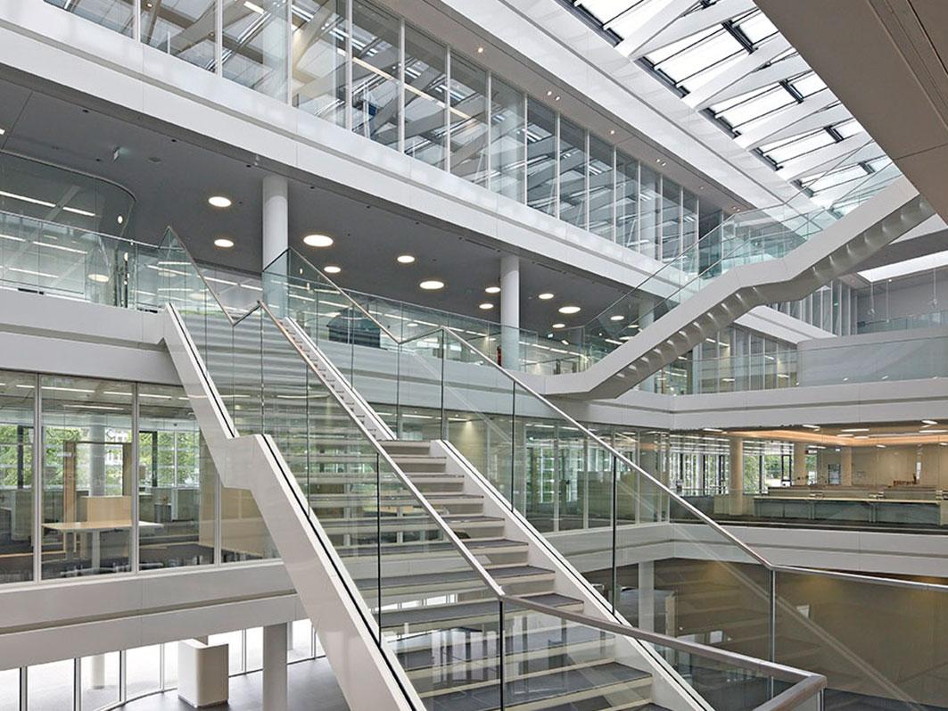Bodenbelag  für das Headquarter Trianel in Aachen