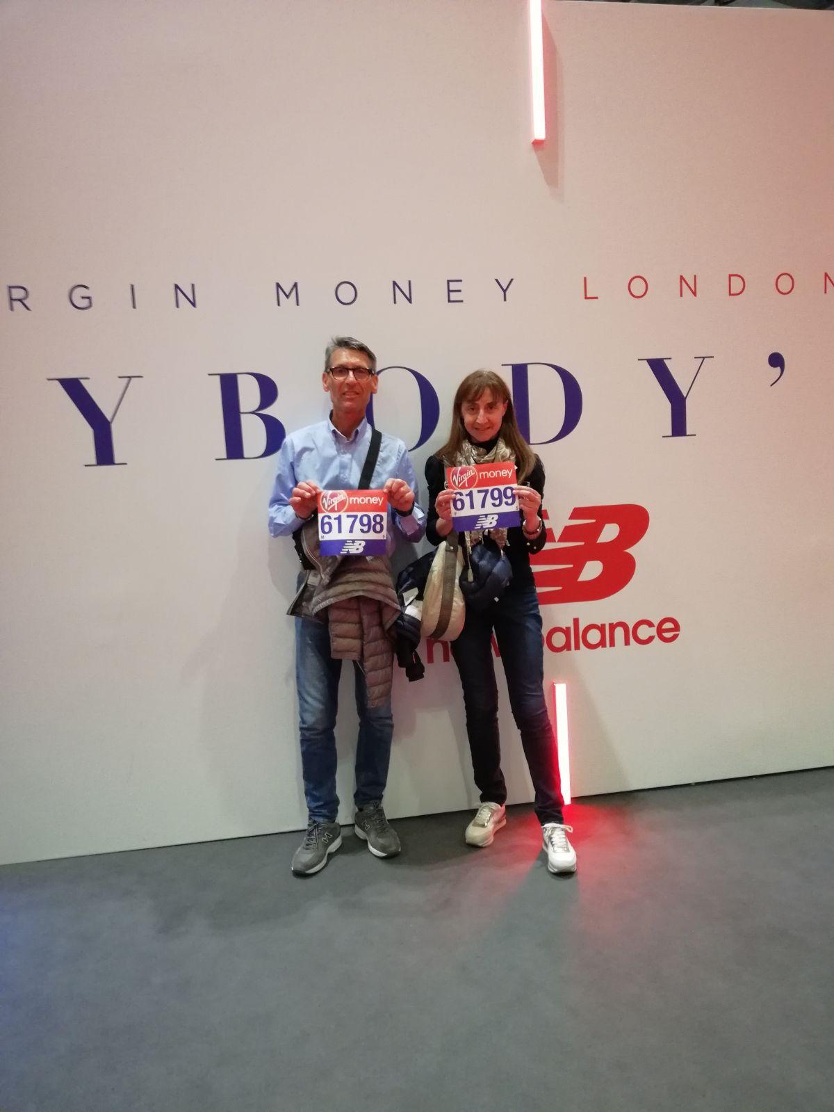 22/04/2018 London Marathon- Conero Running