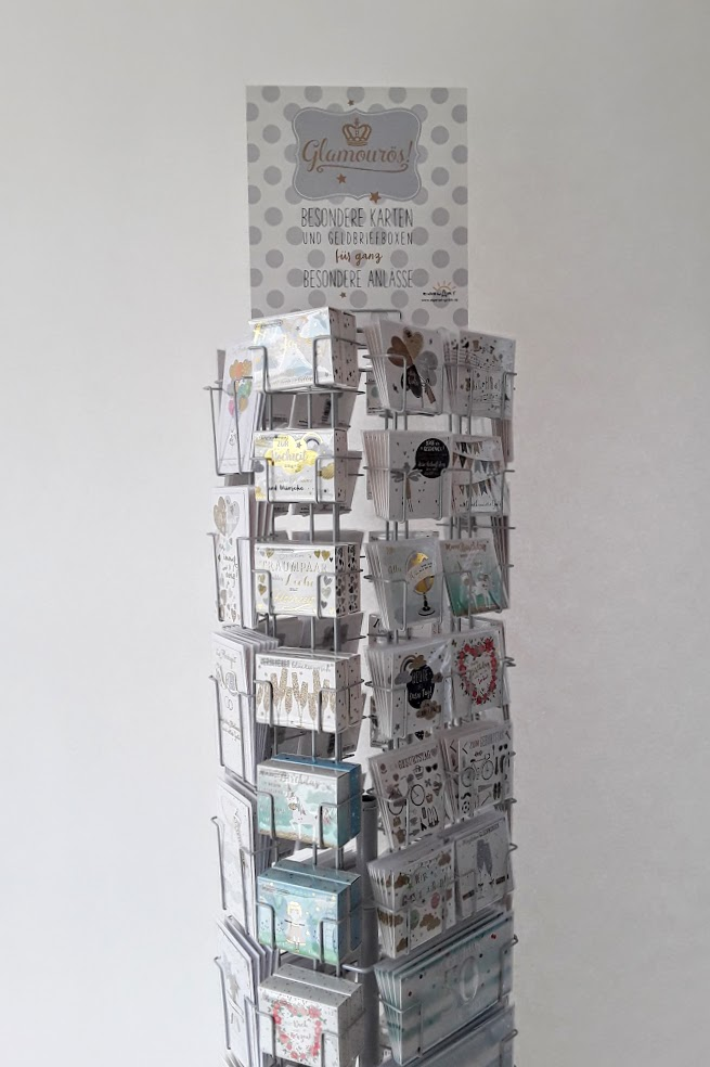 Geschenkboxen für Geldgeschenke und Minigeschenke. Zu verschiedenen Anläßen bedruckt.