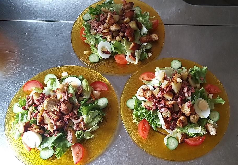 Nos salades vosgienne