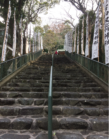 石切神社上の宮(筆者撮影)
