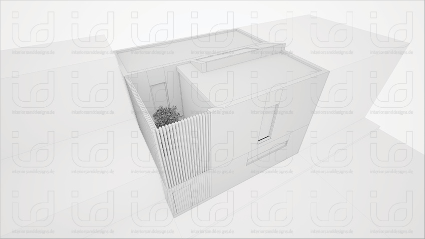 Black Box (FORM-ART Architekten) Clay-Rendering