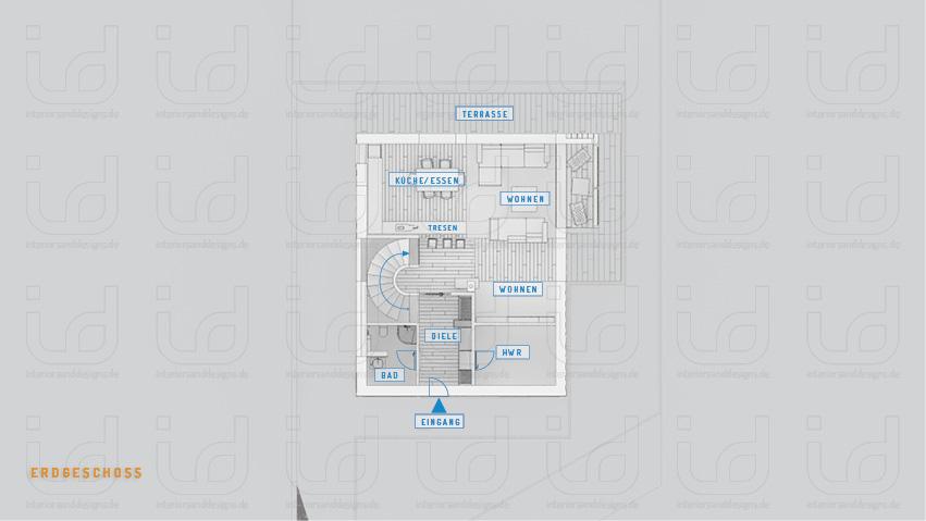 HOUSE-WB Grundriss Erdgeschoss