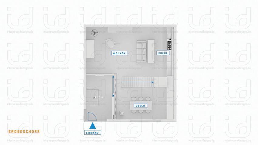 Black Box (FORM-ART Architekten) Grundriss Erdgeschoss