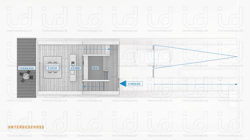 Lagemann (Laket Architekten) Grundriss Untergeschoss