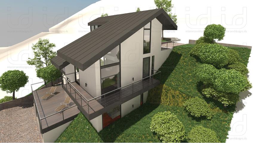SLOPE-HOUSE Aussenansicht 6