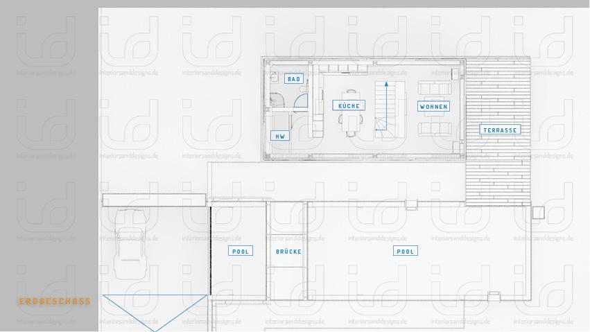 HOUSE-NI Grundriss Erdgeschoss