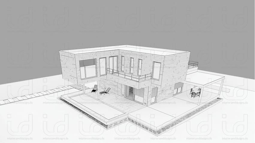 Mariam House (Antonio Altarriba) Clay-Rendering
