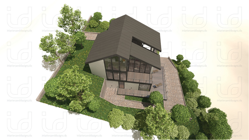 SLOPE-HOUSE Aussenansicht 2