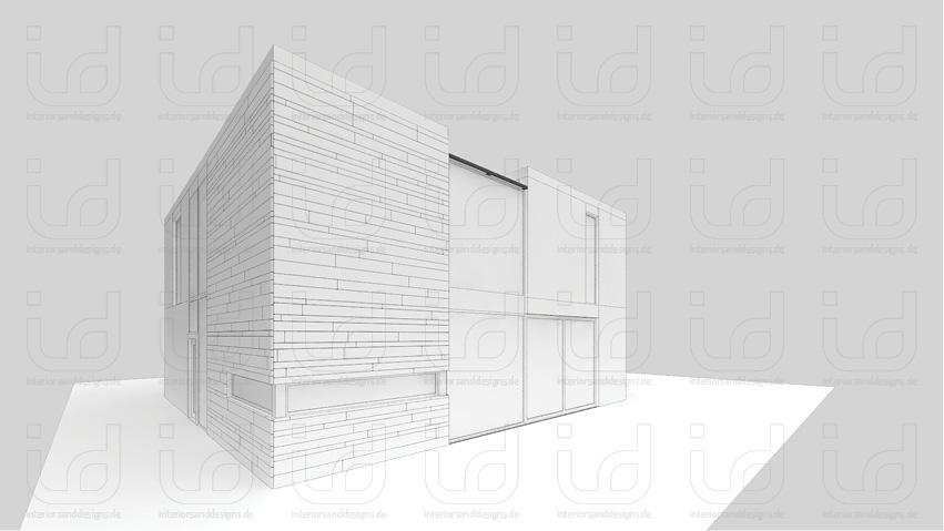 T-HOUSE Nr.2 Clay-Rendering