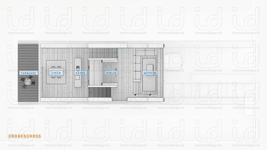 Lagemann (Laket Architekten) Grundriss Erdgeschoss