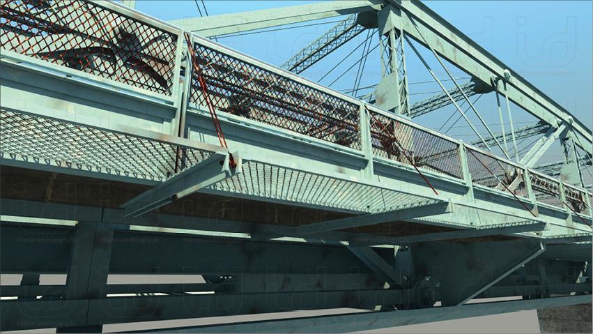 Pennsylvania Trussing Bridge Details