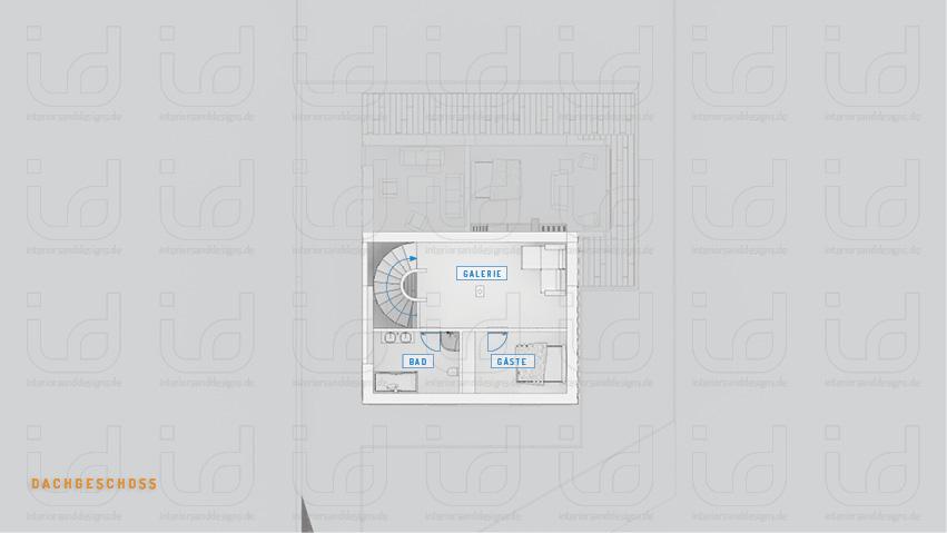 HOUSE-WB Grundriss Dachgeschoss