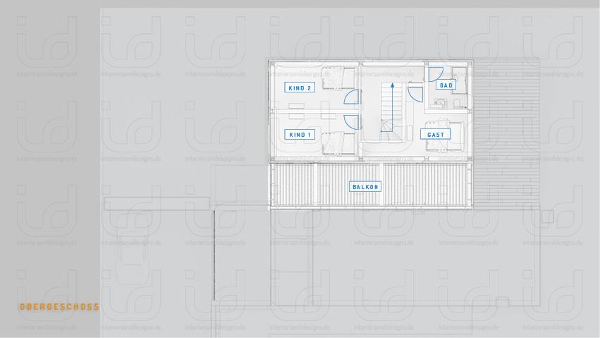 HOUSE-NI Grundriss Obergeschoss