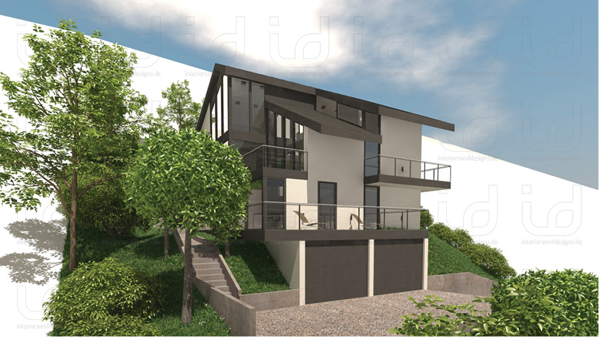 SLOPE-HOUSE Aussenansicht 4