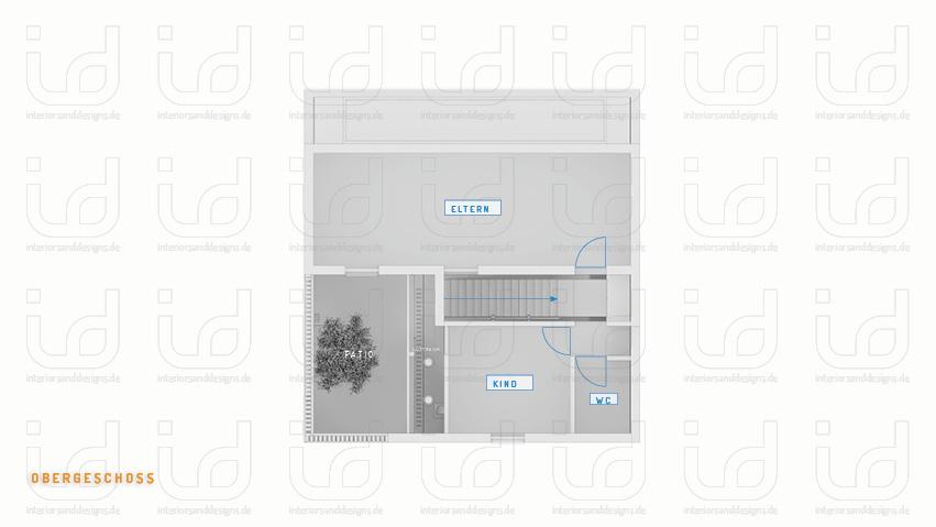 Black Box (FORM-ART Architekten) Grundriss Obergeschoss