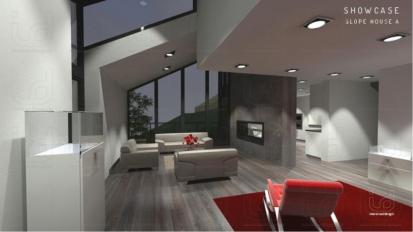 SLOPE-HOUSE Wohnraum 2