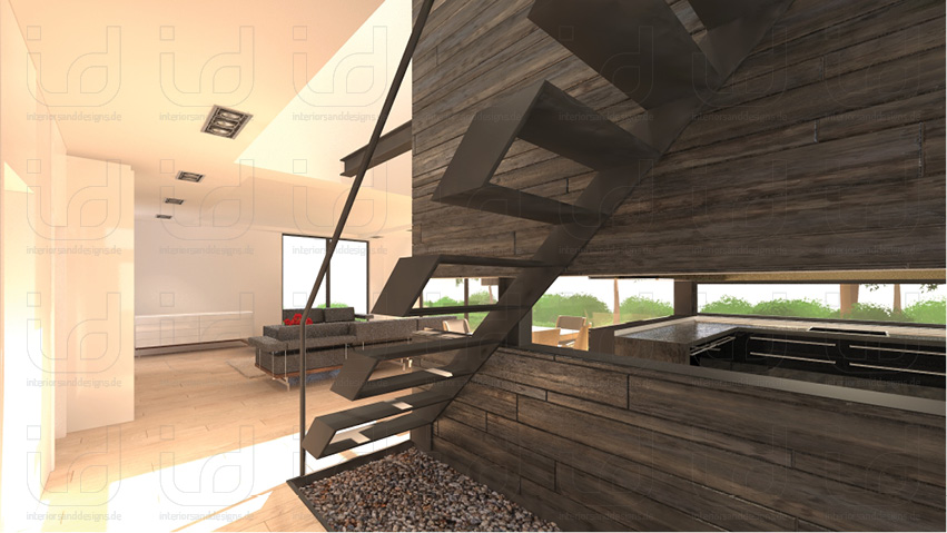 T-HOUSE-No2 Treppe