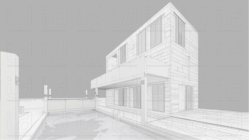 HOUSE-NI Clay-Rendering