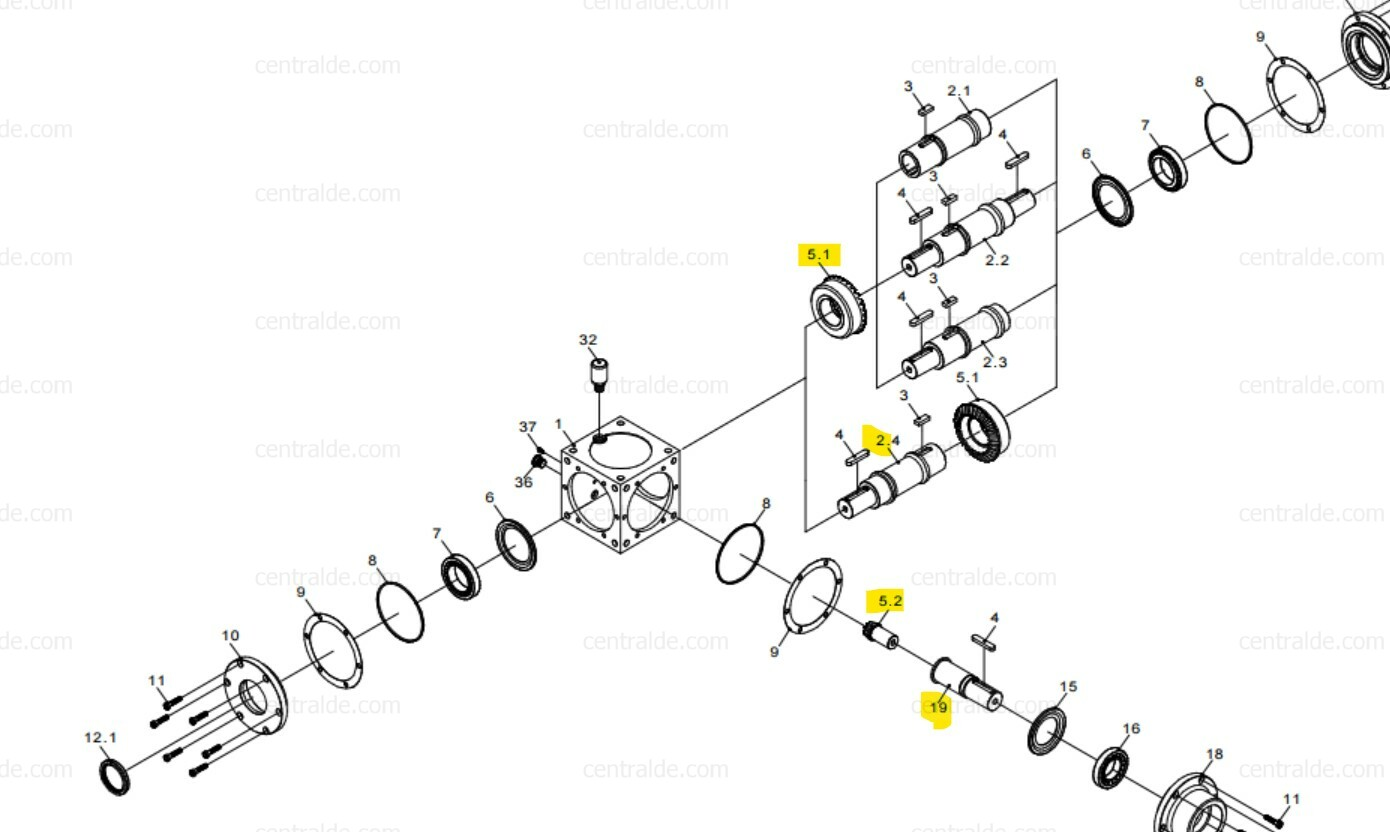 Catálogo ZAE catalog parts request