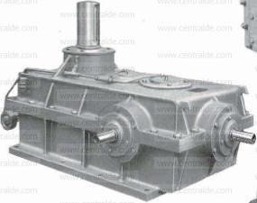 Plano despiece para comprar repuestos reductor y motor Echesa.