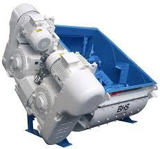 Motor mixer concrete BHS