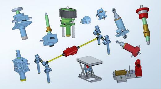 Catalogo de recambios y repuestos para reductores y motores Enzfelder. Despiece.