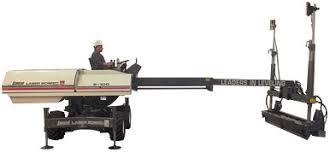 Laser hormigón horizontal planeo