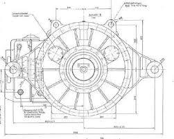 Plano general reductor eólico aerogenerador Lohmann Stolterfoht