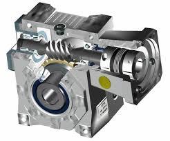 Sección motor y reductor de velocidad Gerard