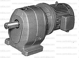 moto-reductor coaxial y patas jiv fundición alta resistencia repuesto lista