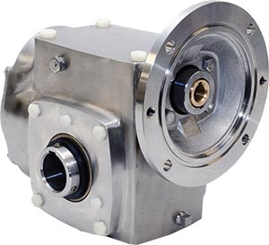 Reductor Aluminio Leeson: engrane, caja reductora, sinfín, rodamiento Leeson, piñón.